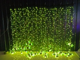 willow lights led curtain lights