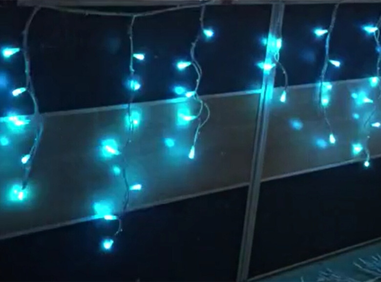 smart icicle lights
