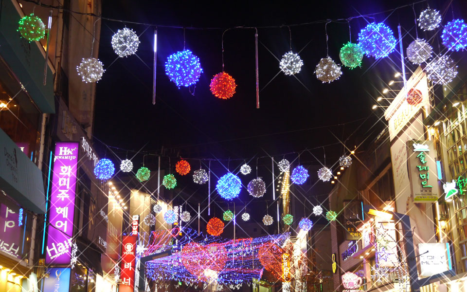 Street  decoration in Korea